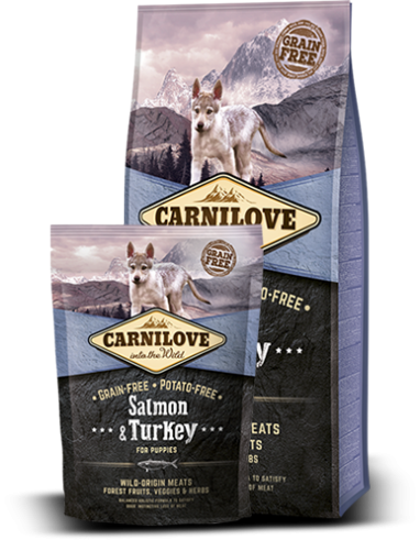 Salmon & Turkey for puppies